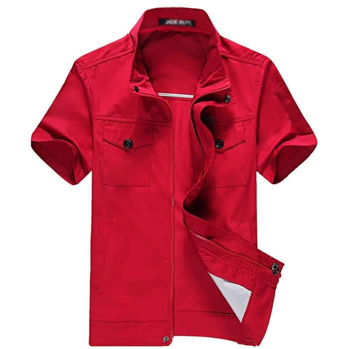 短袖车间工厂服装