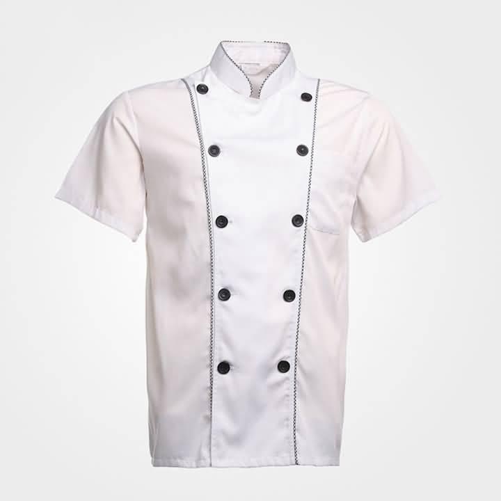 夏季厨师服样衣