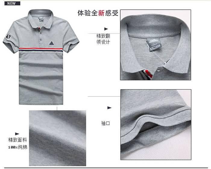 短袖POLO衫细节图片