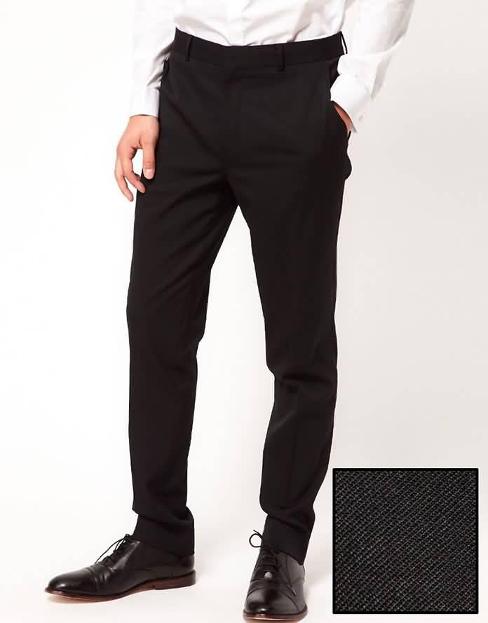 男士结婚礼服裤子图片