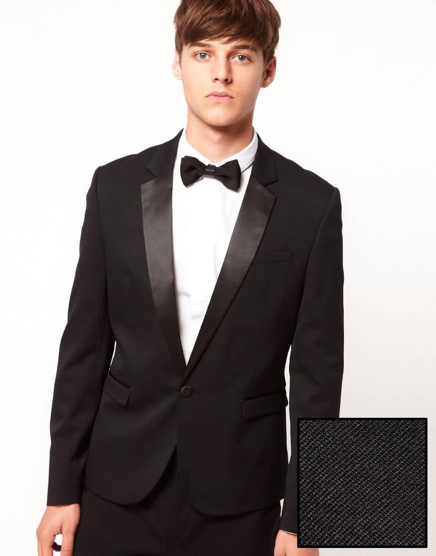 男士结婚礼服面料细节