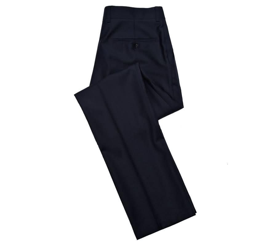 蓝色运动西裤