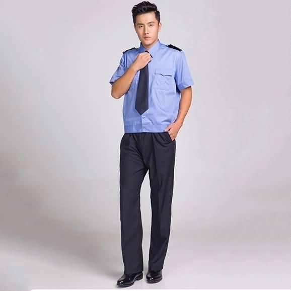 保安服夏装短袖衬衣保安制服