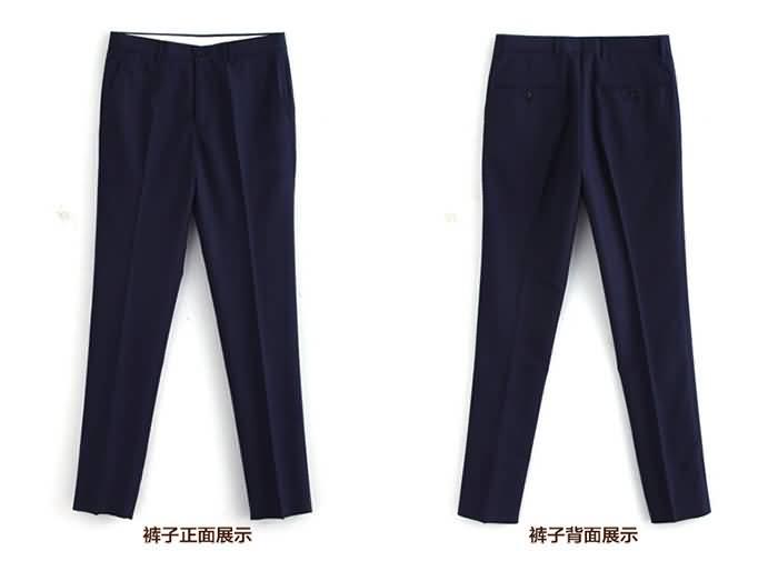 玉如意2015结婚礼服定制男士西裤正反面图片