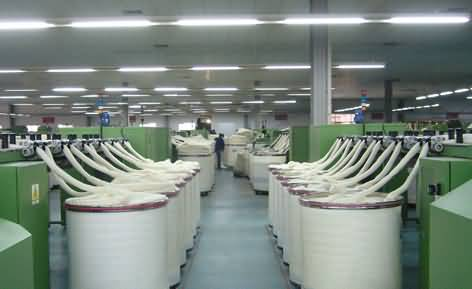 羊毛纺织图片