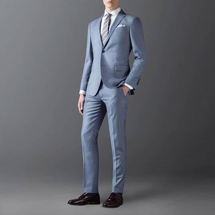2015播音主持艺考服装男上镜西装