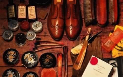 皮鞋的保养