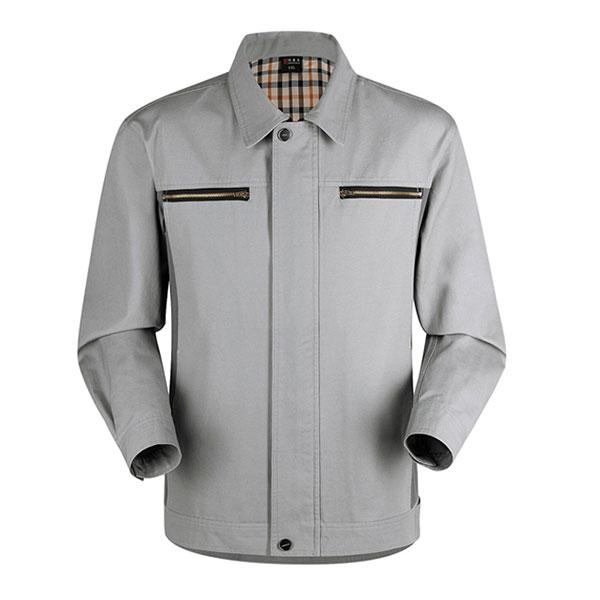 济宁秋季工作服定做时尚工装夹克