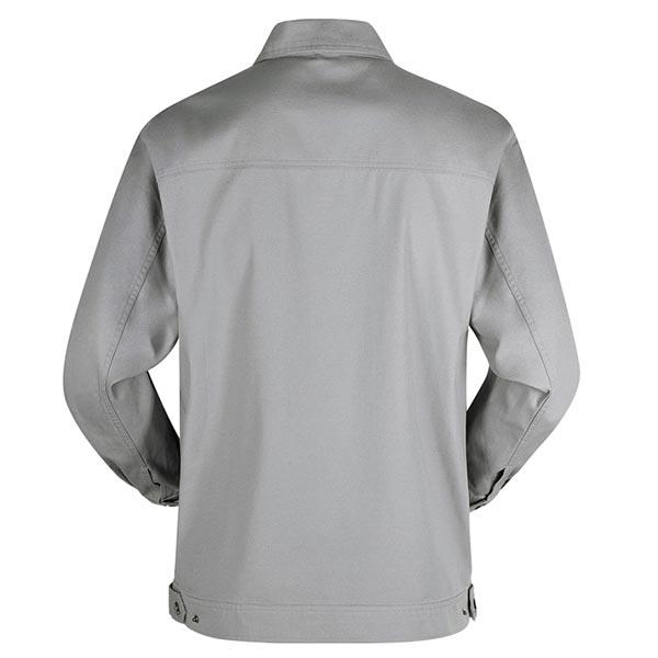 济宁秋季工作服定做时尚工装夹克背面图片