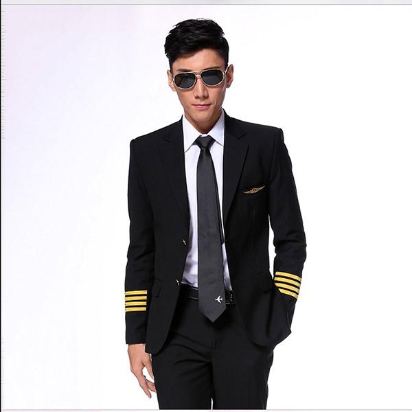 新款男飞行员制服
