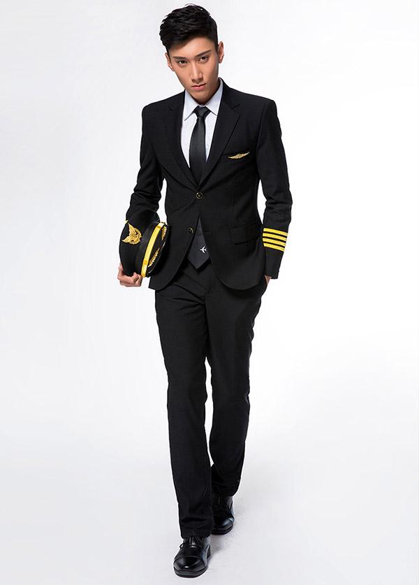 男飞行员制服西装
