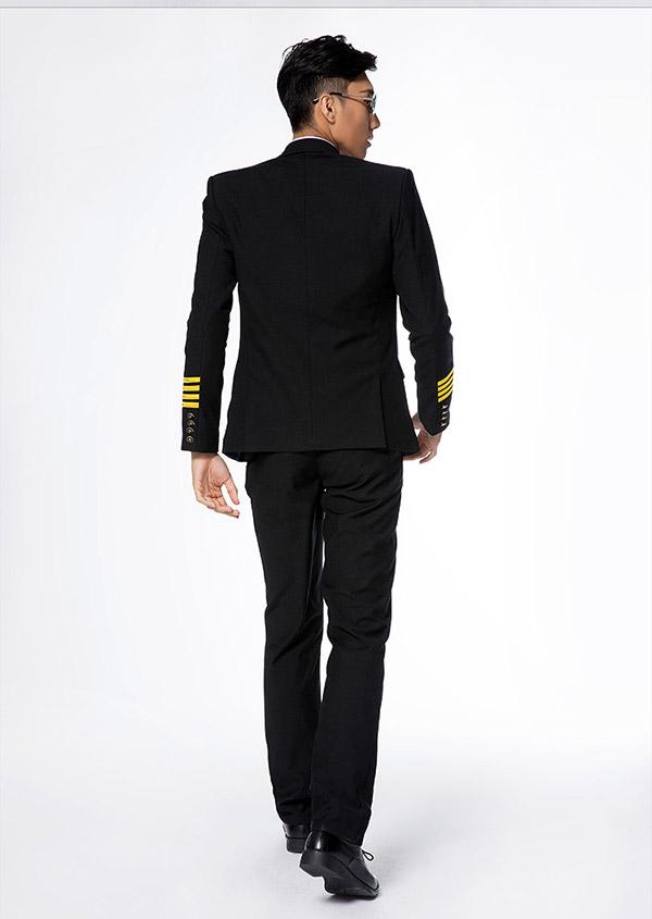 男飞行员新款制服