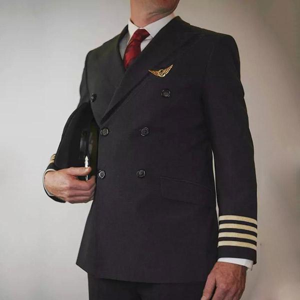 男飞行员制服定做