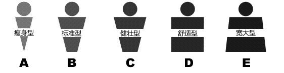 人体体型分类