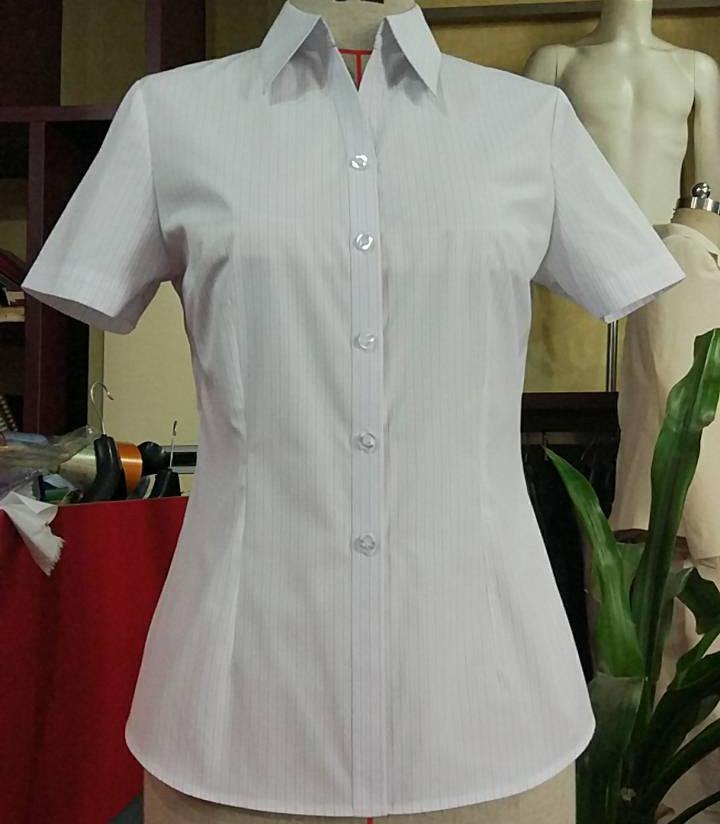 V字领女士衬衣