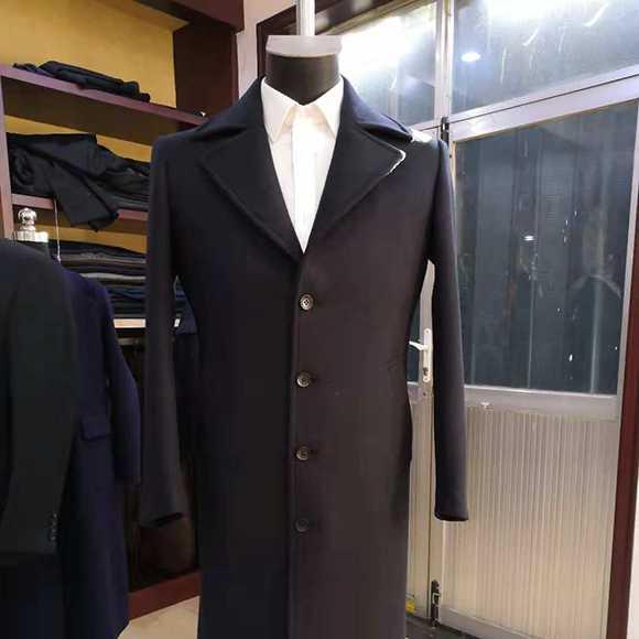 男士职场商务大衣