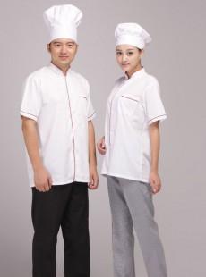 厨师夏天工作服