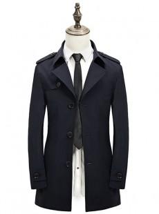 2015青年英伦休闲西装领薄款夹克风衣