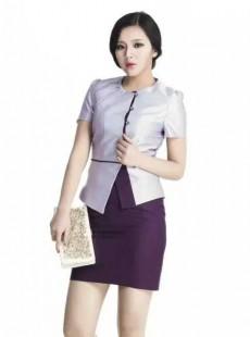 2016新款中式职业装套裙三种颜色可选