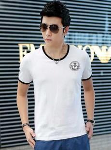 夏季男士短袖T恤奥戴尔棉时尚修身