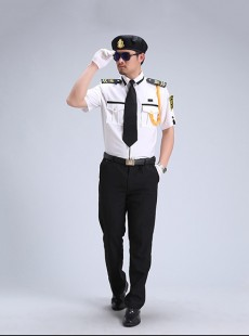形象岗制服夏装定制-九巨龙集团保安服款式