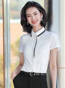 韩版工作服白衬衣